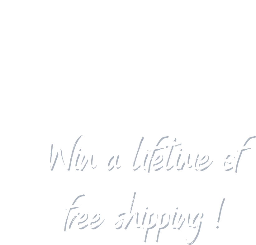 Win free shipping for a year